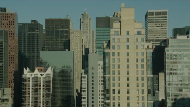 New York Manhattan 4k Aerial Flying Past Manhattan Buildings 4