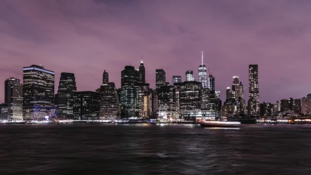 T/L ZI New York Manhattan Skyline at Night