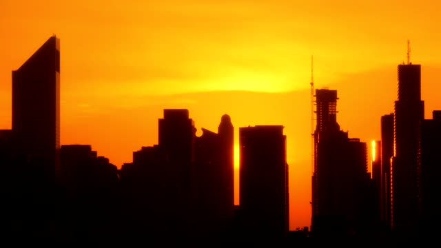 New York Manhattan Sunset