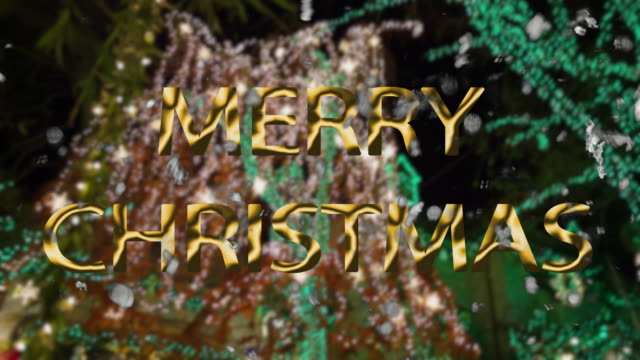 new york merry christmas lights happy holidays night street people - happy holidays stock videos & royalty-free footage