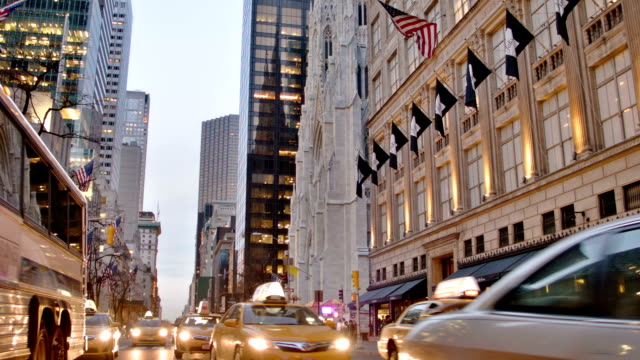 new york. midtown - circa 5th century stock videos & royalty-free footage