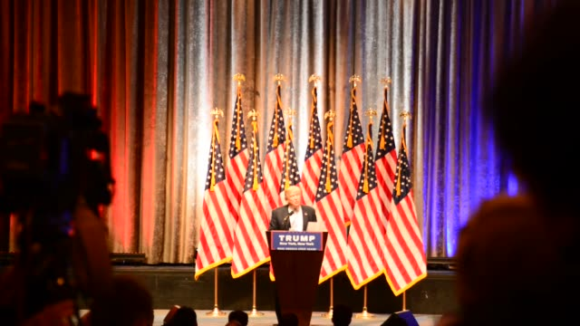 New York NY Donald Trump holds a new s conference in Manhattan to announce Mike Pence as his running mate