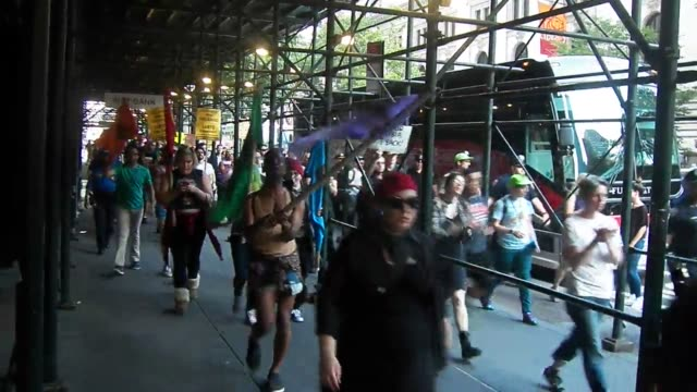 new york ny usa18th june 2016saytheirname solidarity unity march from grand central station to the stonewall memorial in the west village footage of... - level 42 stock videos & royalty-free footage