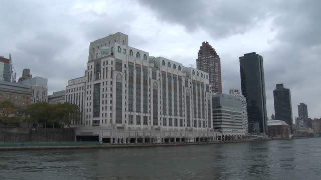 new york presbyterian/weill cornell medical center - east river nyc - medical building stock videos and b-roll footage