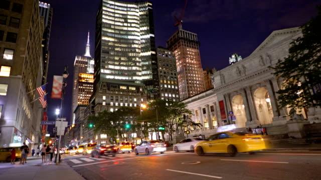 New York Public Library, Fifth Avenue, New York City