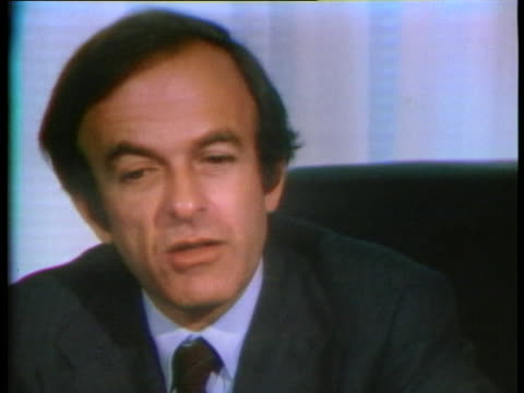 new york, richard ottinger comments on committees going against the majority. - 1975 stock videos & royalty-free footage
