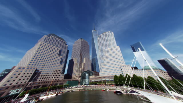 new york river walk distorted - authority stock videos & royalty-free footage
