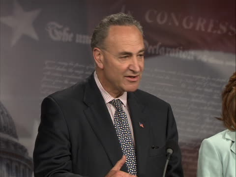 new york senator charles schumer comments on the united states state department policy on pakistan following the times square bomb attempt. the... - united states and (politics or government) stock videos & royalty-free footage