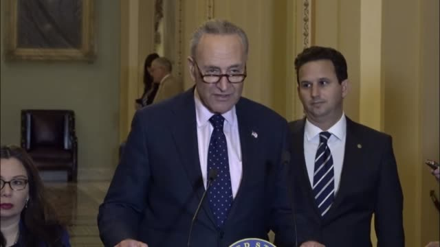New York Senator Charles Schumer says Republicans chose an ideal family for making projections in expenses and deductibility in the 10 year window...