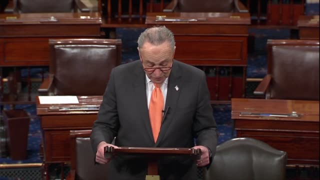 new york senator charles schumer says the first step act provides the support and incentives for prisoners to participate in productive activities... - prison reform stock videos & royalty-free footage