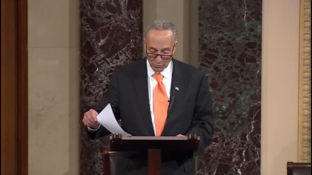 new york senator chuck schumer calls an effort by senate republicans to counter sanctuary city immigration policies a show vote says the senate is... - sanctuary city stock videos & royalty-free footage