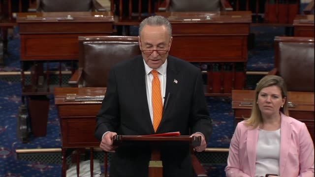 new york senator chuck schumer says a day after attorney general bill barr testified to the judiciary committee about the report of special counsel... - testimony stock videos & royalty-free footage
