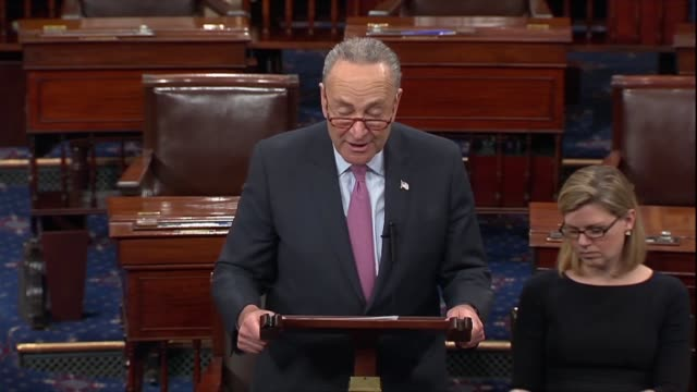 new york senator chuck schumer says a day after general motors announced it would close five factories and lay off 15000 workers the news was a gut... - belly punching stock-videos und b-roll-filmmaterial
