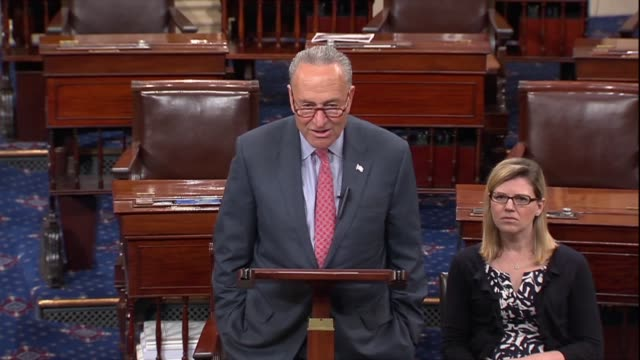 vídeos de stock, filmes e b-roll de new york senator chuck schumer says a day after president donald trump met with vladimir putin in helsinki that president trump was criticized for... - abuso de substâncias