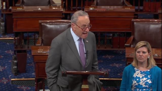 New York Senator Chuck Schumer says a day after the August recess was canceled that a report by the Trump administration had shown Medicare was going...