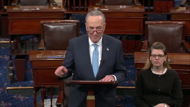 New York Senator Chuck Schumer says hours before President Trumps first State of the Union address that a different kind of president would be...