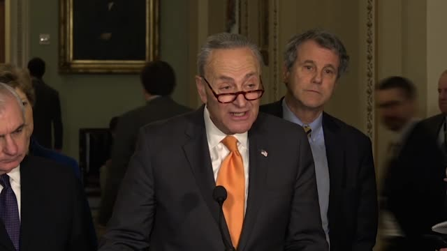 New York Senator Chuck Schumer says it seems President Donald Trump understands that a border wall will not work or get the job done that Democrats...