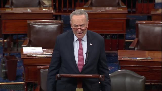 New York Senator Chuck Schumer says of a possible government shutdown Republicans do not have a plan and did not know what to do the scuttlebutt is...
