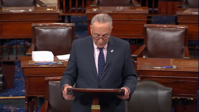New York Senator Chuck Schumer says on the floor that the election integrity commission initiated by President Donald Trump has nothing to do with...