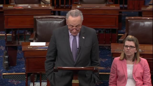 new york senator chuck schumer says the weekend before ambassador to the un nikki haley had gone on national television to announce a new round of... - commentator stock videos & royalty-free footage