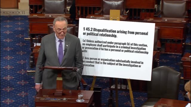 New York Senator Chuck Schumer says two days after the resignation of retired Lieutenant General Michael Flynn as National Security Advisor to the...