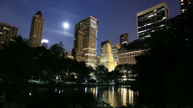 skyline von New York, Central park