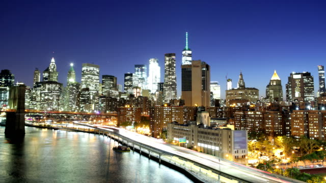 new york skyline - river east stock videos & royalty-free footage