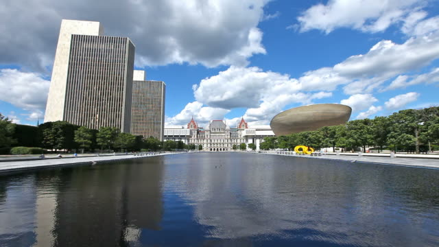 new york state capitol - albany new york state stock videos & royalty-free footage