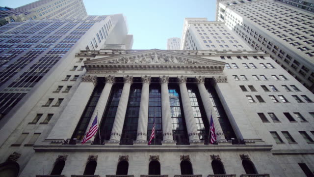 new york stock exchange, broad street, new york, usa - new york stock exchange stock videos & royalty-free footage