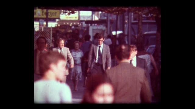 1981 new york street scenes - 1981 stock videos & royalty-free footage