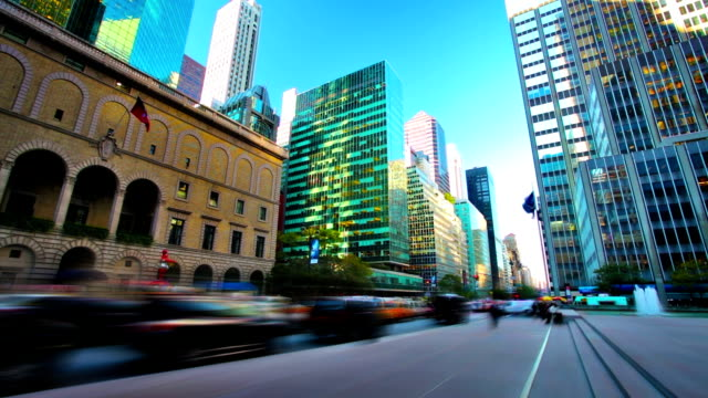 New York street.