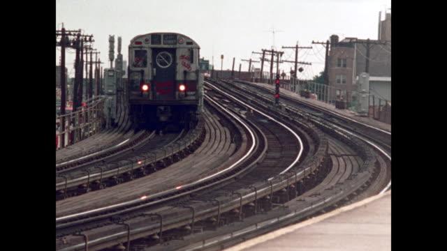 new york subway graffiti in the 1970s - graffiti stock videos and b-roll footage