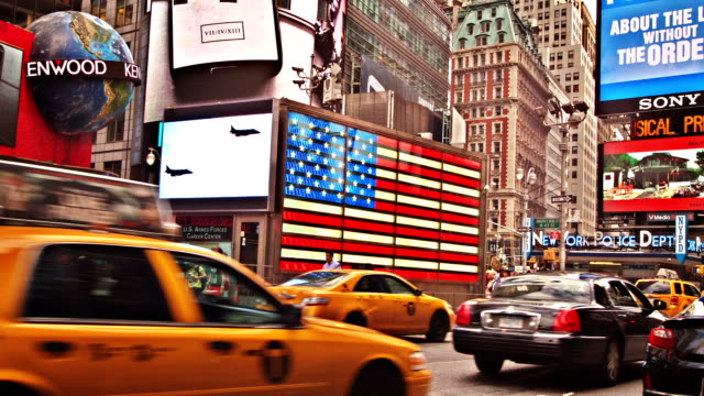 new york. time square - mid atlantic usa stock videos and b-roll footage
