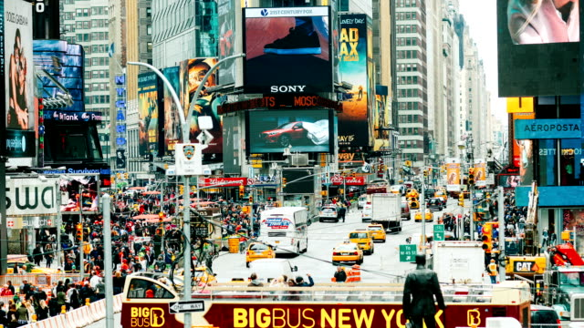New York Times Square Time Lapse