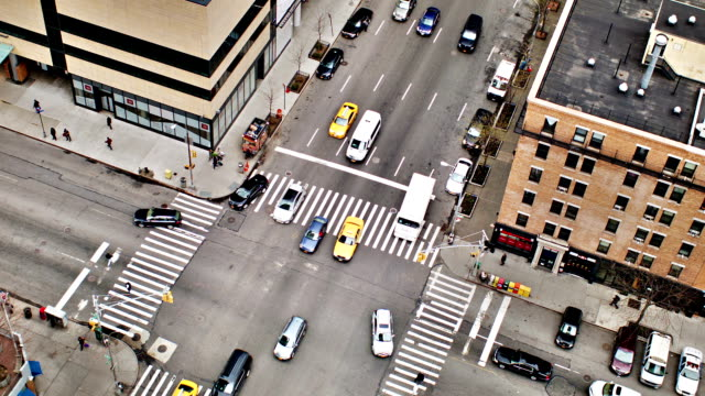 new york traffic - traffic light stock videos & royalty-free footage