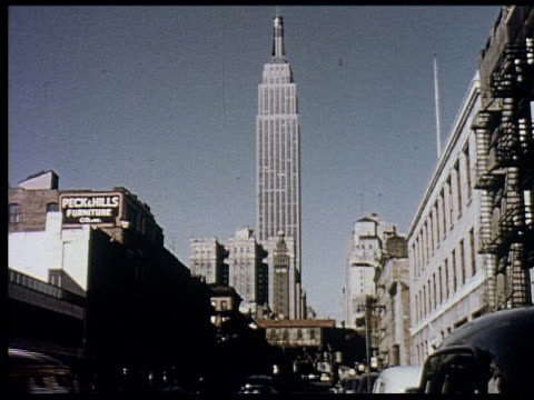vidéos et rushes de 1956 new york travelogue - 6 of 12 - 1956
