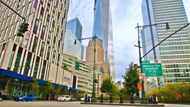 new york - one world trade center stock videos & royalty-free footage
