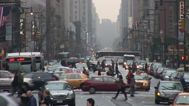 New YorkCity Street in New York United States