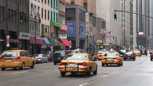 New YorkCity Street in New York United States