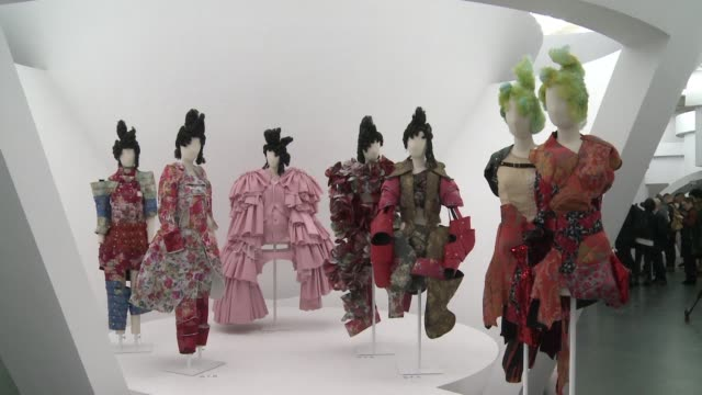 New York's Metropolitan Gallery of Art's Costume Institute showed off its 2017 exhibition on Monday ahead of its starstudded Met Gala fundraiser