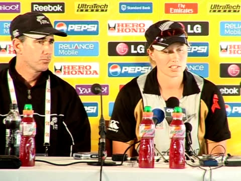 new zealand captain aimee watkins said england were leaps and bounds ahead in women's cricket after the hosts won their second straight major final... - greater london stock videos & royalty-free footage