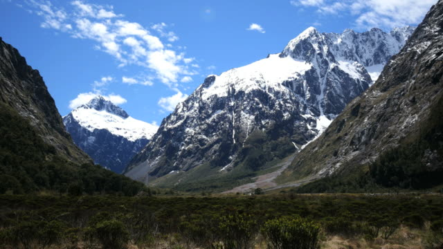 New Zealand Fiordland dramatic mountain