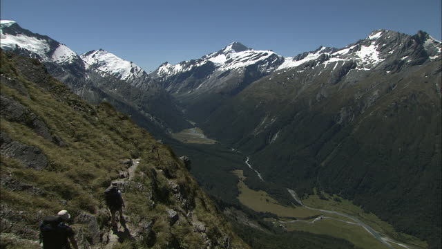 new zealand; southern alps - new zealand southern alps stock videos & royalty-free footage