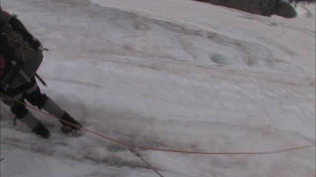 vidéos et rushes de new zealand; southern alps - mont aspiring