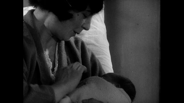 vídeos y material grabado en eventos de stock de 1939 - newborn baby and mother - 1930 1939