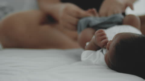 newborn story - 0 11 months stock videos & royalty-free footage