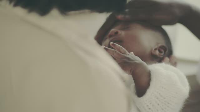 newborn temperature - baby stock videos & royalty-free footage