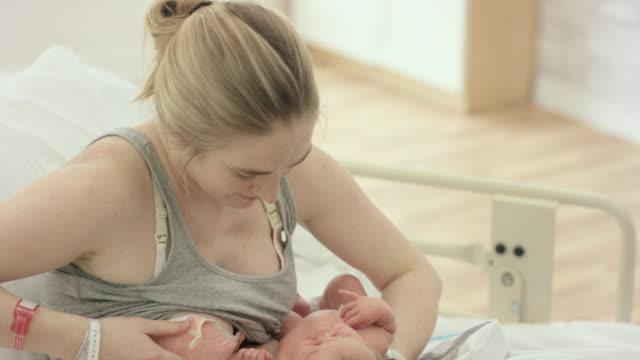 Newborn's First Feed