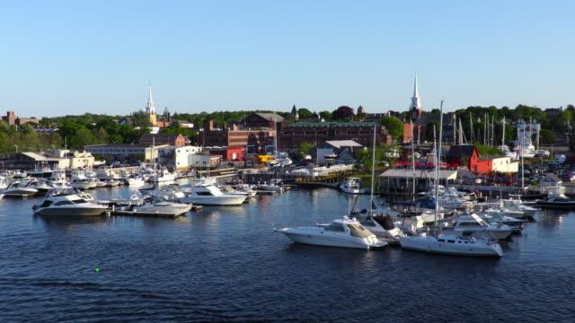 Newburyport, Massachusetts along the Merrimack River