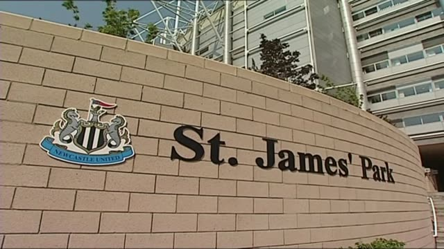 newcastle united and west ham united raided in tax fraud probe newcastle united and west ham united raided in tax fraud probe newcastleupontyne st... - st. james' park newcastle upon tyne stock videos & royalty-free footage